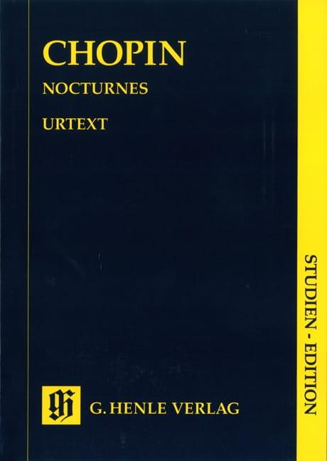 Nocturnes - CHOPIN - Partition - Petit format - laflutedepan.com