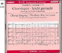 Oratorio de Noël 2 CD Soprano CHOEUR BACH Partition laflutedepan