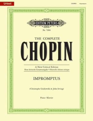 Impromptus. Nouvelle Edition CHOPIN Partition Piano - laflutedepan