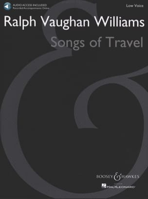 Songs of Travel. Voix Grave WILLIAMS VAUGHAN Partition laflutedepan