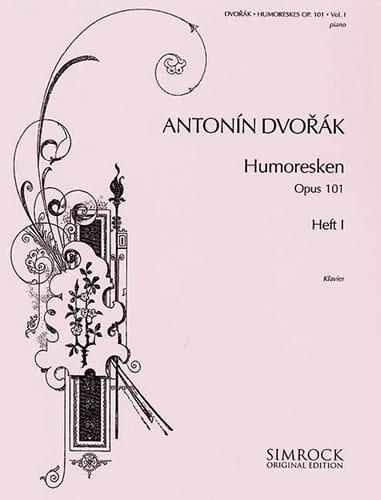 Humoresques Opus 101 Vol 1 - DVORAK - Partition - laflutedepan.com