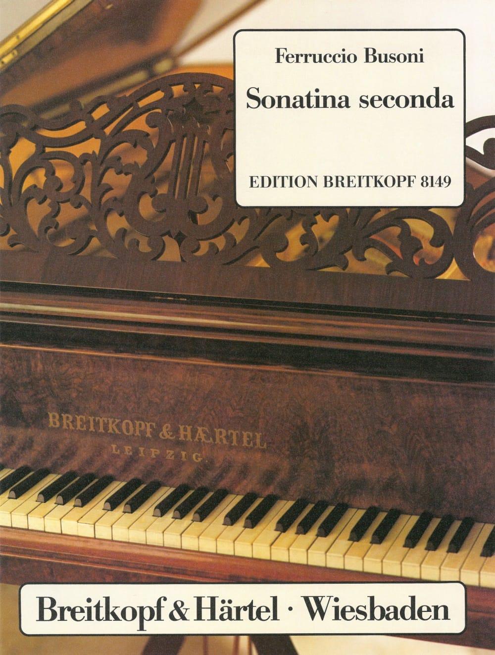 Sonatina Seconda Bv 259 - BUSONI - Partition - laflutedepan.com