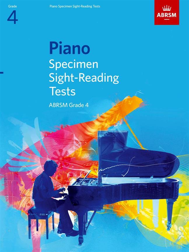 Piano Specimen Sight-Reading Tests, Grade 4 - laflutedepan.com