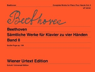 BEETHOVEN - Works for Piano 4 Hands Volume 2 - Partition - di-arezzo.co.uk