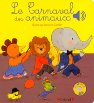 Carnaval des Animaux - SAINT-SAËNS - Livre - laflutedepan.com