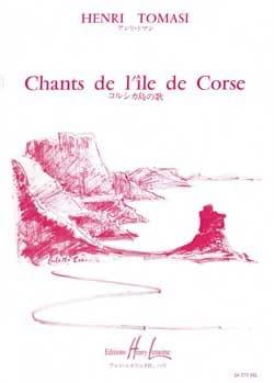 12 Chants Corses. Choeur TOMASI Partition Chœur - laflutedepan