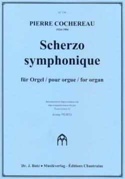 Scherzo Symphonique Pierre Cochereau Partition Orgue - laflutedepan