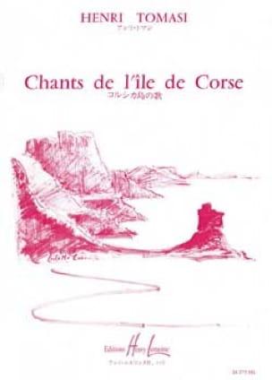 12 Chants Corses. Choeur - TOMASI - Partition - laflutedepan.com