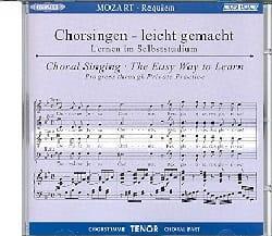 Requiem K 626. CD Ténor CHOEUR - MOZART - Partition - laflutedepan.com