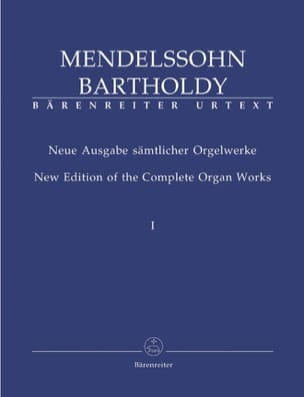 Oeuvre d'Orgue Volume 1 MENDELSSOHN Partition Orgue - laflutedepan