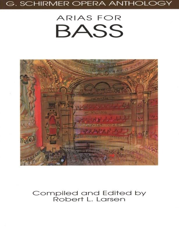 Opera Anthology : Arias Pour Basse - Partition - laflutedepan.com