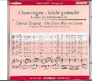 Requiem K 626. CD Soprano - MOZART - Partition - laflutedepan.com