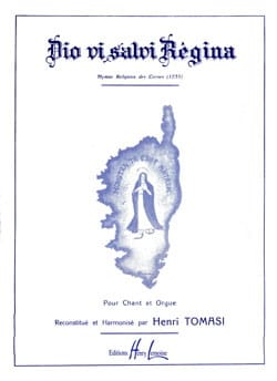 Dio Vi Salvi Regina TOMASI Partition Chœur - laflutedepan