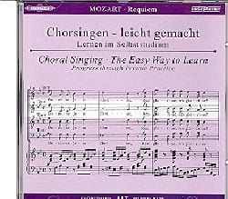 Requiem K 626. CD Alto MOZART Partition Chœur - laflutedepan