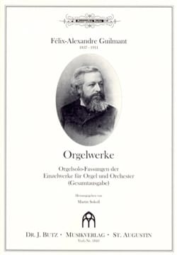 Orgelwerke - Alexandre Guilmant - Partition - Orgue - laflutedepan.com