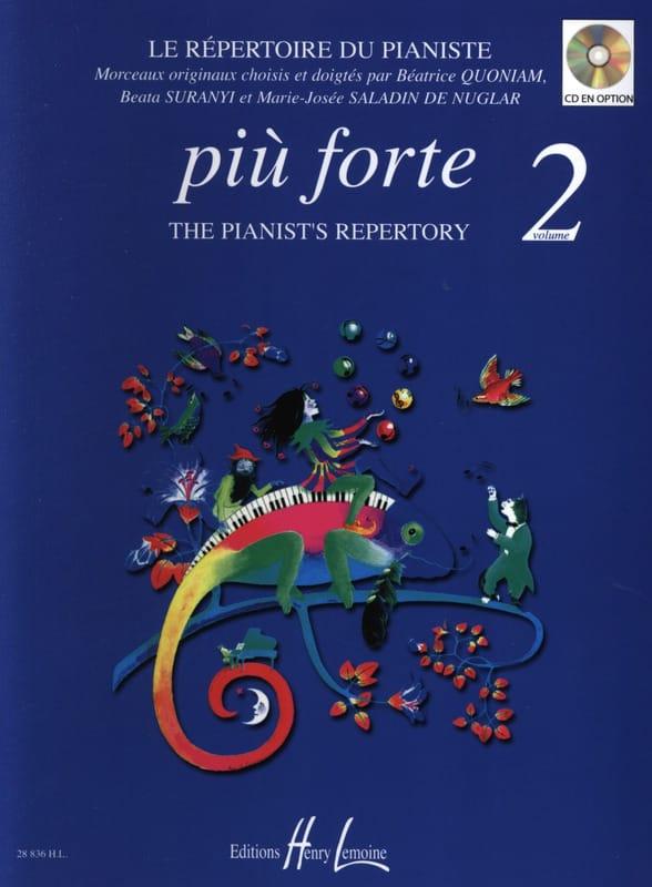 Più Forte Volume 2 - Partition - Piano - laflutedepan.com