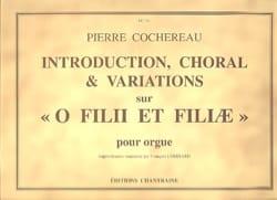 Introduction Choral et Variations sur O Filii et Filiae laflutedepan