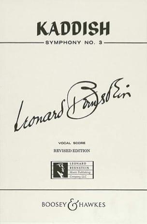 Kaddish Symphonie N°3 BERNSTEIN Partition Chœur - laflutedepan
