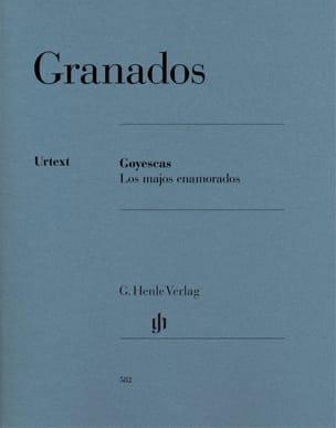 Goyescas - Los majos enamorados GRANADOS Partition laflutedepan