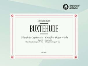 Oeuvre Pour Orgue. Volume 3 - BUXTEHUDE - Partition - laflutedepan.com