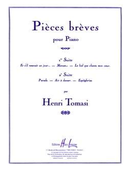 Pièces Brèves, Suite N°1 TOMASI Partition Piano - laflutedepan