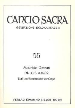 Dulcis Amor - Maurizio Cazzati - Partition - laflutedepan.com