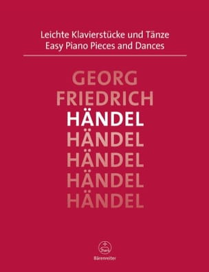 Easy Piano Pieces and Dances - HAENDEL - Partition - laflutedepan.com