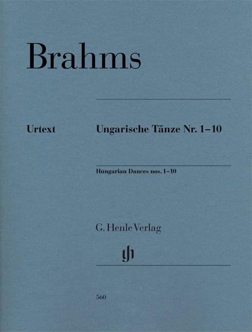 Danses Hongroises n° 1 à 10 - BRAHMS - Partition - laflutedepan.com