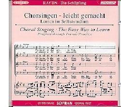 Die Schöpfung CD Soprano HAYDN Partition Chœur - laflutedepan