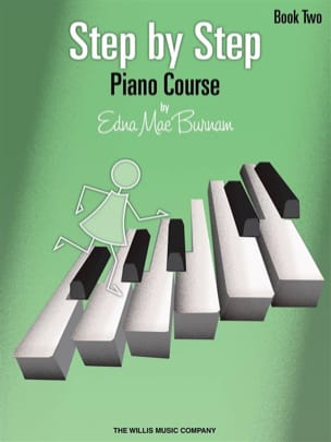 Step by Step Piano Course Volume 2 Edna-Mae Burnam laflutedepan