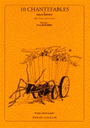 10 Chantefables de R. Desnos Opus 13 - Yvon Bourrel - laflutedepan.com