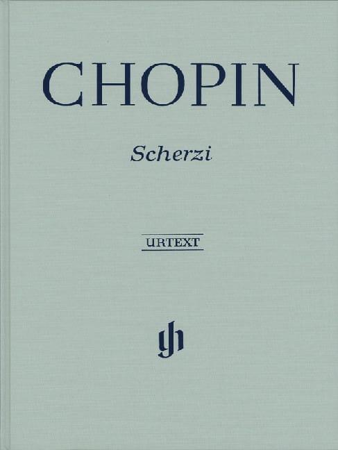 4 Scherzi - Relié - CHOPIN - Partition - Piano - laflutedepan.com