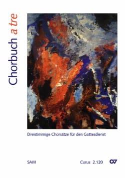 Chorbuch A Tre Partition Chœur - laflutedepan
