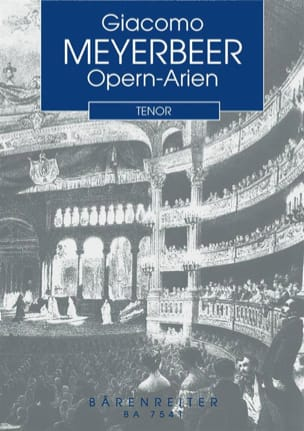 Opern-Arien für Tenor und Klavier - MEYERBEER - laflutedepan.com