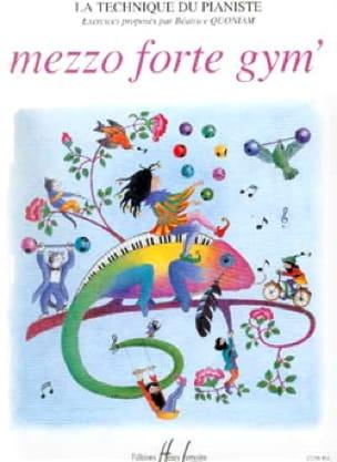 Mezzo Forte Gym' - Partition - Piano - laflutedepan.com
