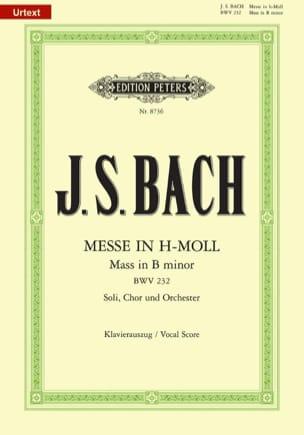 Messe En Si Mineur BWV 232 BACH Partition Chœur - laflutedepan
