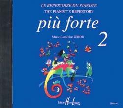 CD - Piu Forte Volume 2 Partition Piano - laflutedepan