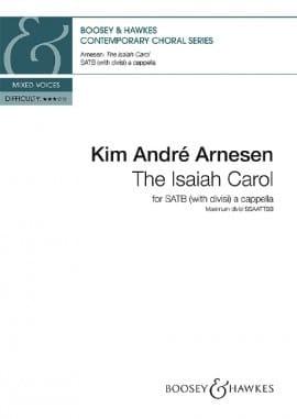 The Isaiah Carol Arnesen Kim André Partition Chœur - laflutedepan