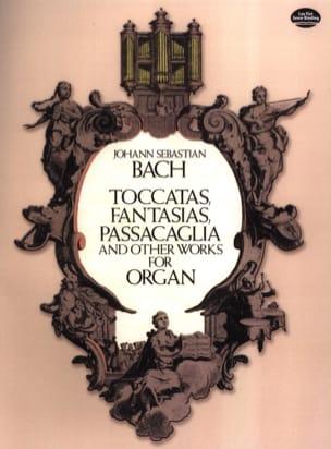 Toccatas, Fantasias, Passacaglia... BACH Partition laflutedepan