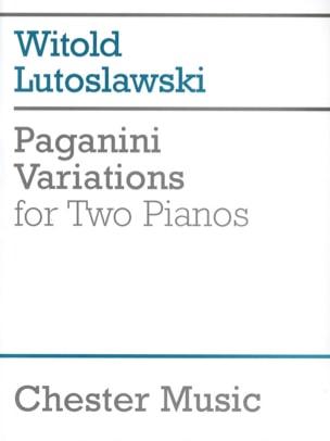 Variations sur 1 Thème de Paganini 2 Pianos LUTOSLAWSKI laflutedepan