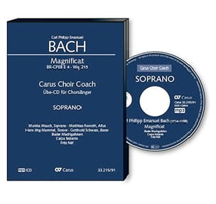 Magnificat Wq 215 - CD Soprano CHOEUR - laflutedepan.com