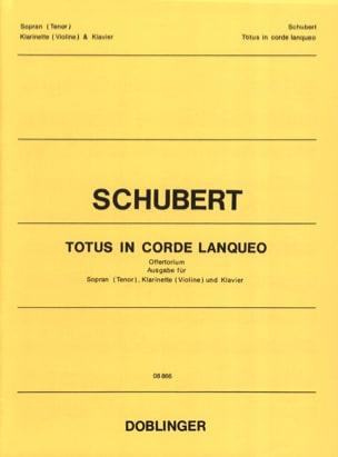 SCHUBERT - Totus en Lanqueo Strings Opus 46 - Partition - di-arezzo.es