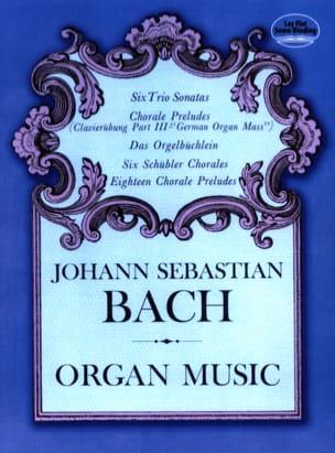 BACH - Organ Music - Partition - di-arezzo.co.uk