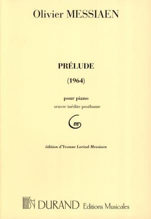 Prélude (1964) MESSIAEN Partition Piano - laflutedepan