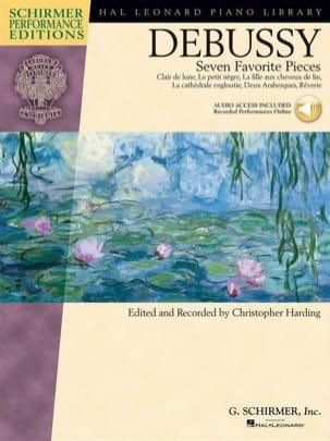 7 pièces favorites DEBUSSY Partition Piano - laflutedepan