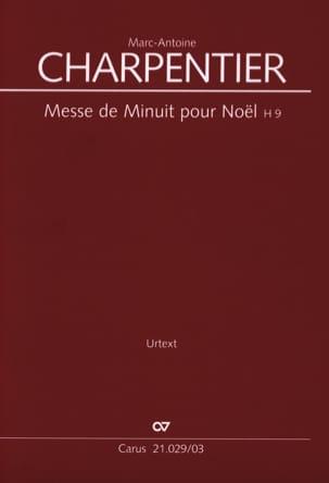 Messe de minuit pour Noël H 9 CHARPENTIER Partition laflutedepan