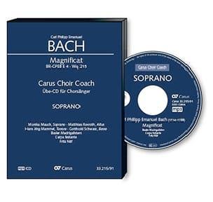 Magnificat Wq 215 - CD Alto CHOEUR - laflutedepan.com