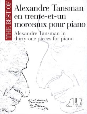 31 Morceaux Pour Piano Alexandre Tansman Partition laflutedepan