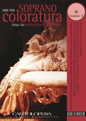 Arie Per Soprano Coloratura Volume 3 Partition laflutedepan