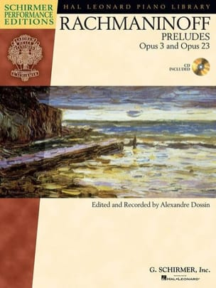 Préludes Opus 3-2 , Opus 23 RACHMANINOV Partition Piano - laflutedepan